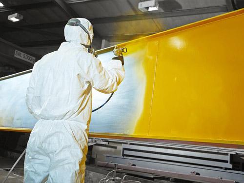 Покраска и антикоррозионная обработка кранов и металлоконструкций